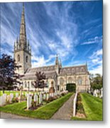 Marble Church Metal Print by Adrian Evans