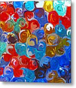 Marble Collection Abstract Metal Print