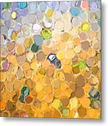 Marble Collection I Abstract Metal Print