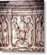 Marble Crypt In Saint Peter's Basilica In Rome Metal Print
