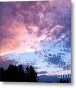Marble Sky Metal Print by Kevin Bone