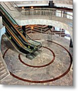 Marble Staircases Metal Print