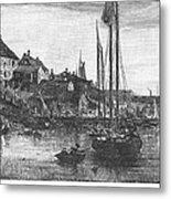 Marblehead: Fishing Boats Metal Print