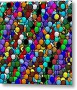 Marbles..or...gumballs Metal Print