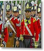 March Off Metal Print