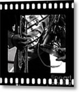 Marching Band Tribute Metal Print