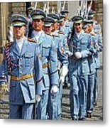Marching Guards Metal Print