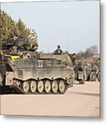 Marder Infantry Fighting Vehicles Metal Print
