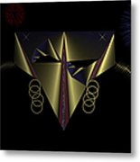Mardi Gras Mask 2 Metal Print