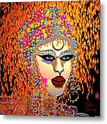 Mardi Gras Metal Print by Natalie Holland