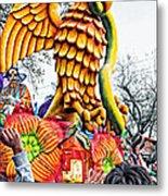 Mardi Gras Parade 2 Metal Print