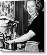 Margaret Thatcher (1925- ) Metal Print