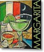 Margarita Poster Metal Print