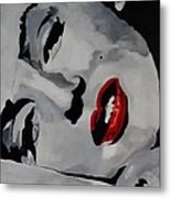 Marilyn Metal Print by Michael Henzel