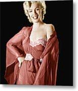 Marilyn Monroe, 1950s Metal Print