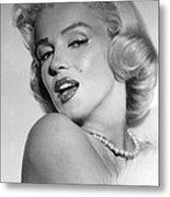 Marilyn Monroe, Ca. Mid 1950s Metal Print