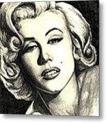 Marilyn Monroe Metal Print by Debbie DeWitt