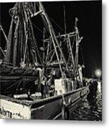 Marina Shipyard Texas Gulf Coast Metal Print