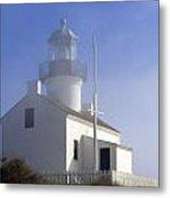 Marine Fog At Pt. Loma Metal Print