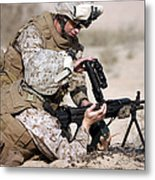Marine Gives Instructions On How Metal Print