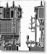 Marine Steam Engine, 1878 Metal Print