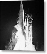 Mariner 1: Launch, 1962 Metal Print