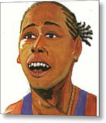 Marion Jones Metal Print