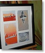 Mark 5 Collage Metal Print