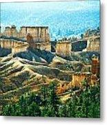 Markagunt Plateau In Zion National Metal Print