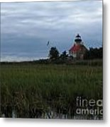 Marking The Mouth Of The River Metal Print