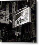 Marlboro In Hong Kong Metal Print