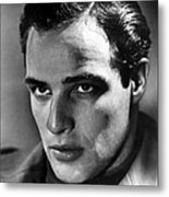 Marlon Brando, 1950s Metal Print by Everett