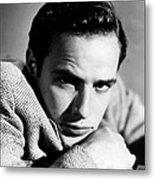 Marlon Brando, Early 1950s Metal Print by Everett