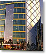 Marriott Evening Metal Print