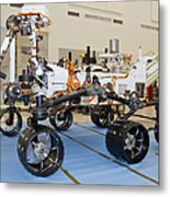 Mars Science Laboratory Rover Metal Print