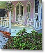 Marthas Vineyard Cottage Metal Print