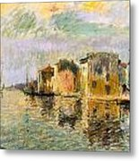 Martigues In The South Of France Metal Print