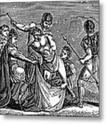 Martyrdom: Saint Julian Metal Print by Granger