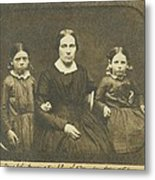 Mary Ann Brown 1817-1884, The Second Metal Print by Everett