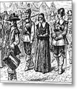 Mary Dyer, D.1660 Metal Print by Granger