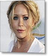Mary-kate Olsen At Arrivals For Weeds Metal Print