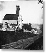 Maryland: Church, 1862 Metal Print