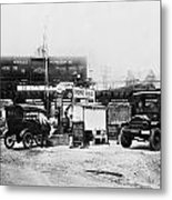 Maryland: Gas Station, C1921 Metal Print