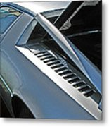 Maserati Merak Detail Metal Print by Samuel Sheats