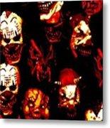 Masks Of Fear Metal Print