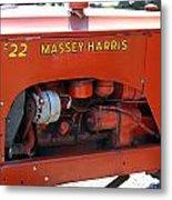 Massey Harris Details Metal Print