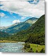 Massive Cloudy Sky Above The Wilderness Metal Print