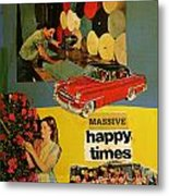 Massive Happy Times Metal Print by Adam Kissel