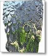 Matalic Angle Wings  Art Metal Print
