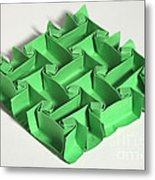 Mathematical Origami Metal Print